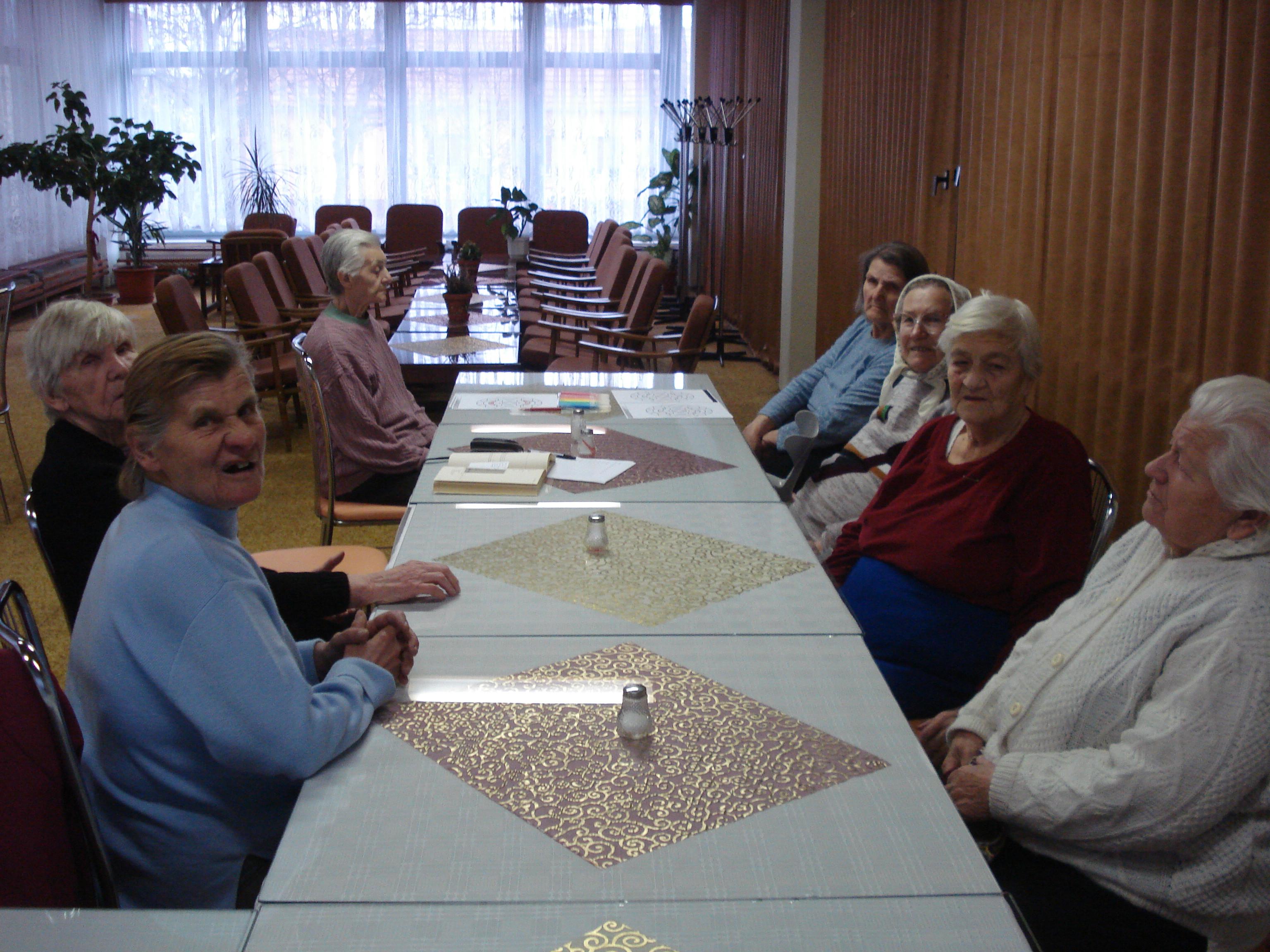 Kognitívne cvičenie s klientmi trpiacimi demenciou 2009
