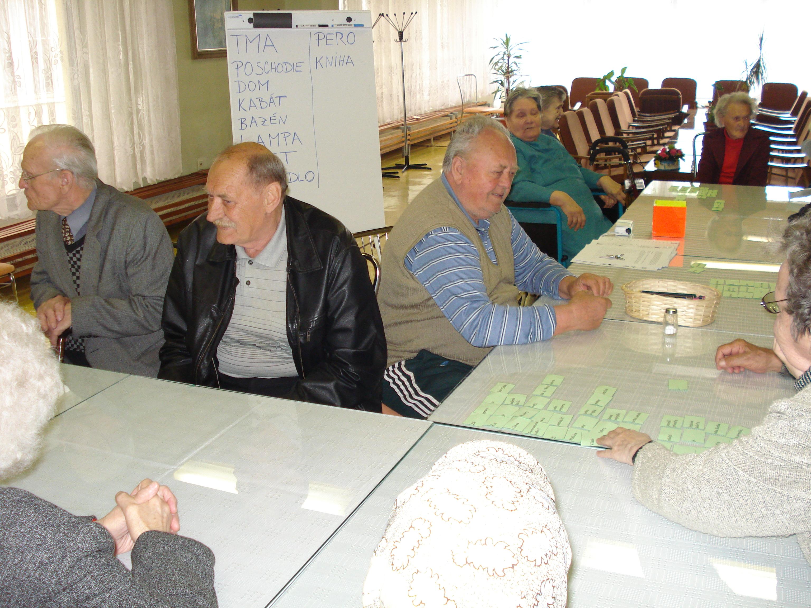 Kognitívny tréning 2010