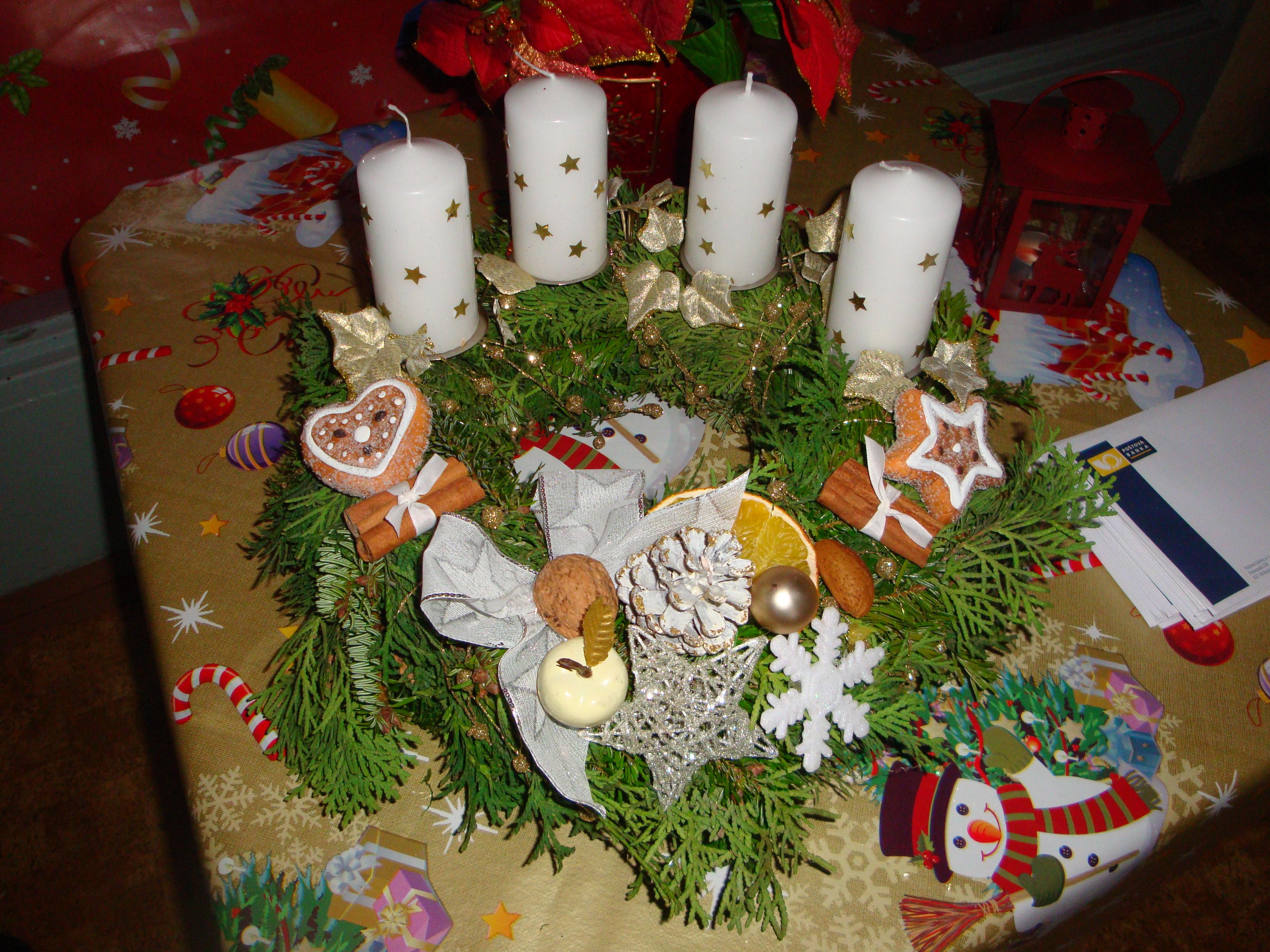Vianočná dekorácia 2010