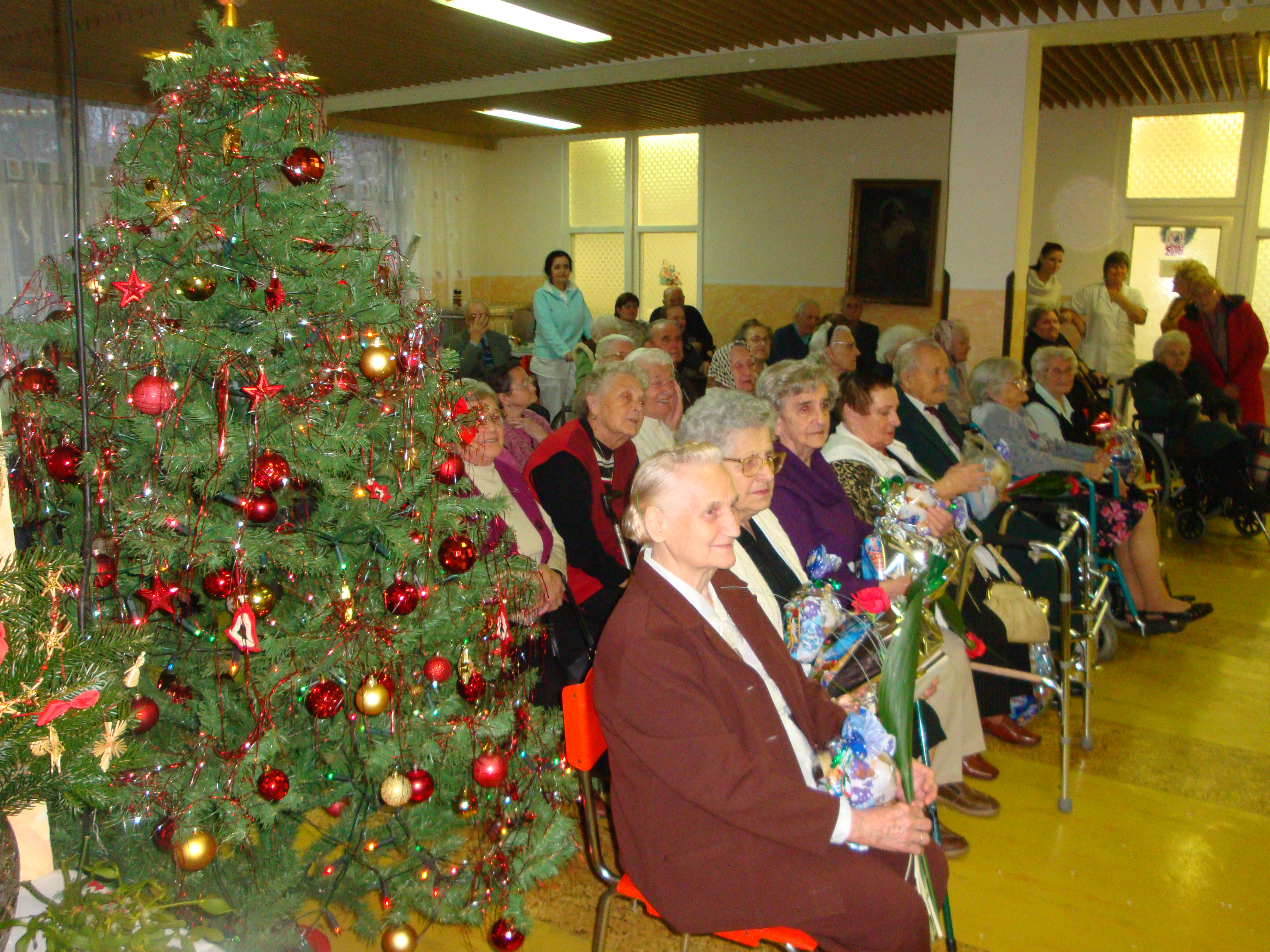 Vianočné posedenie 2010