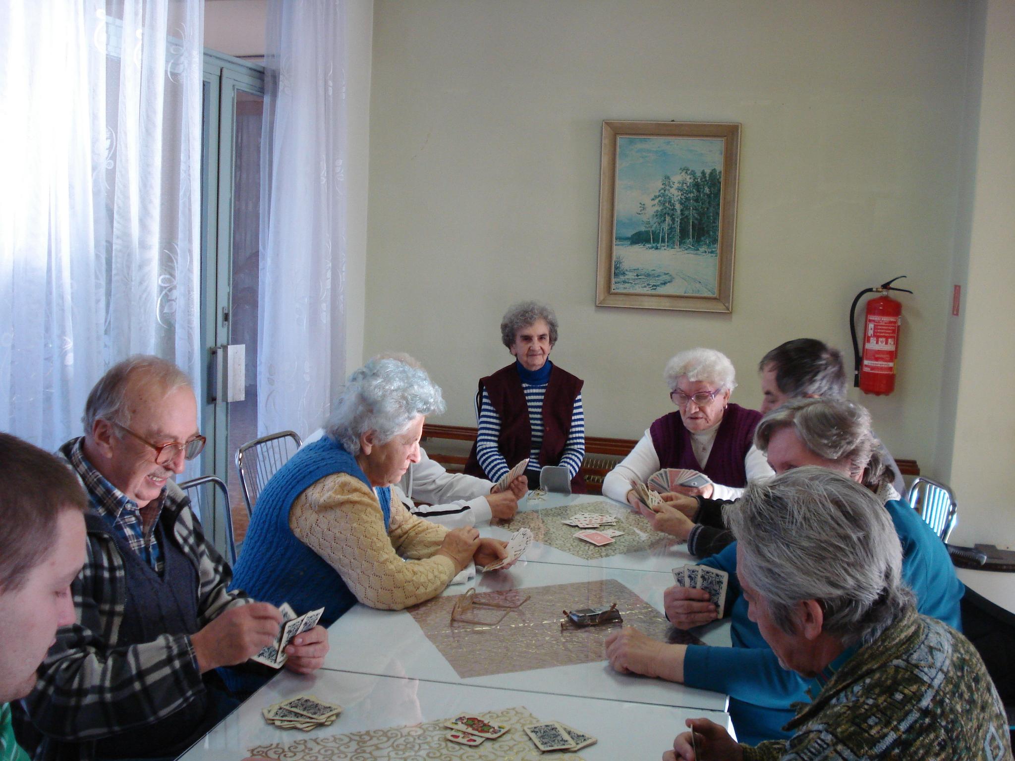 Spoločenské hry - šach, karty, ... 2011