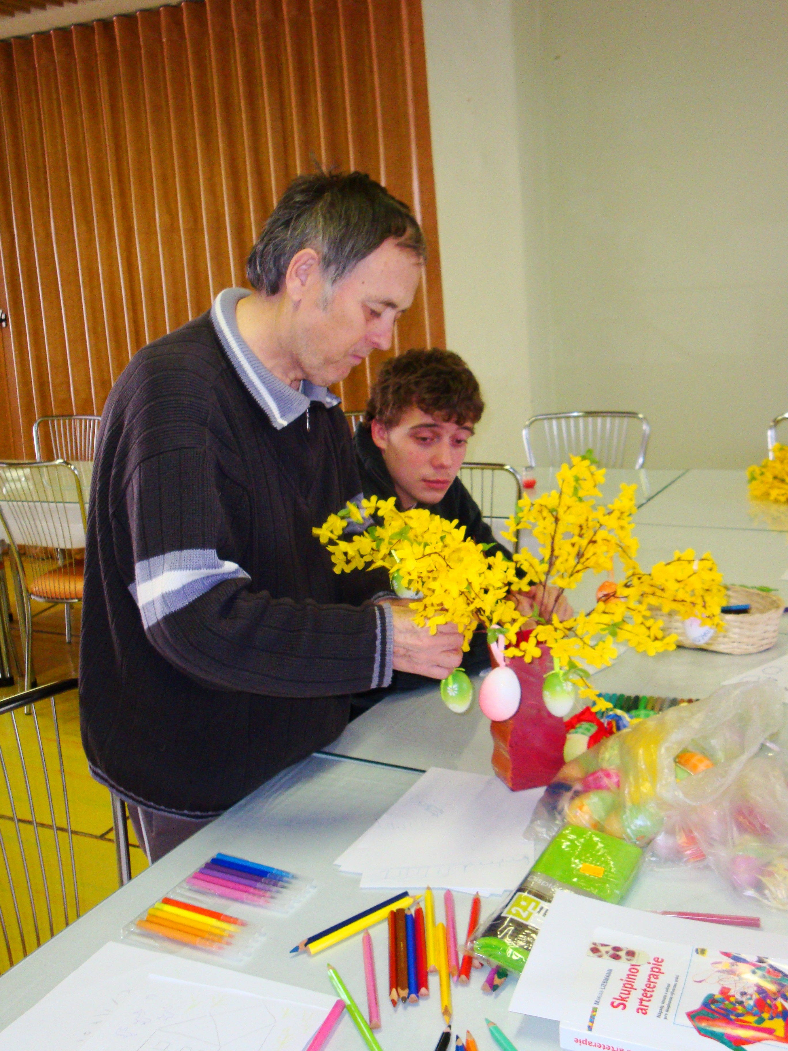 arteterapia - Jarná dekorácia 2011