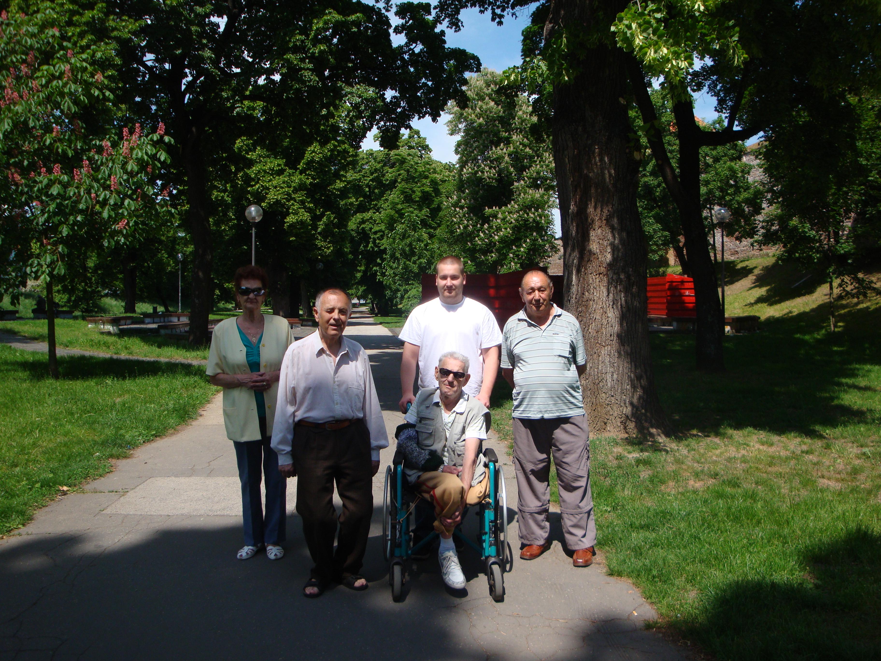Letná prechádzka parkom 2011