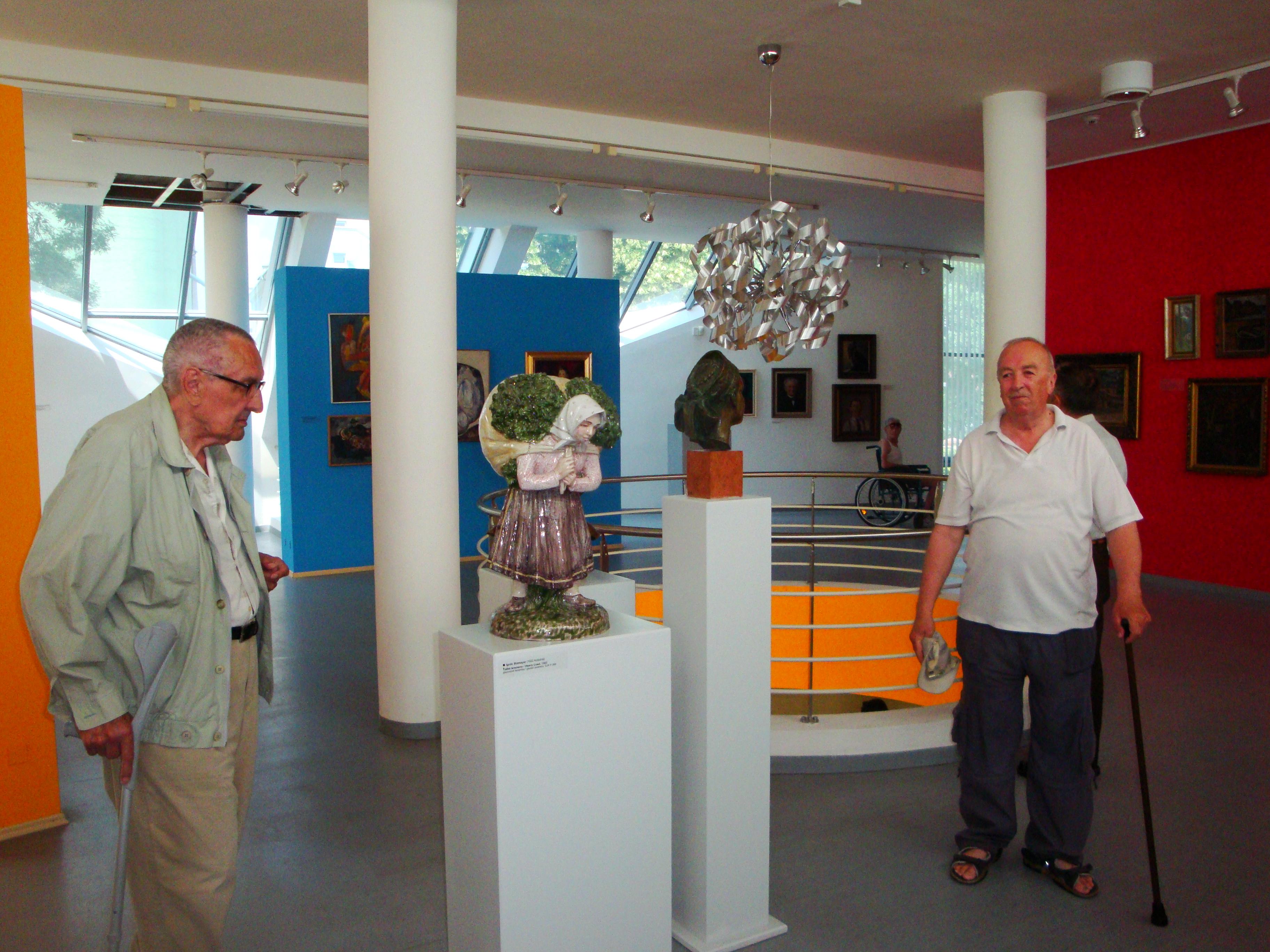 Návšteva galérie J. Koniarka v Trnave 2011