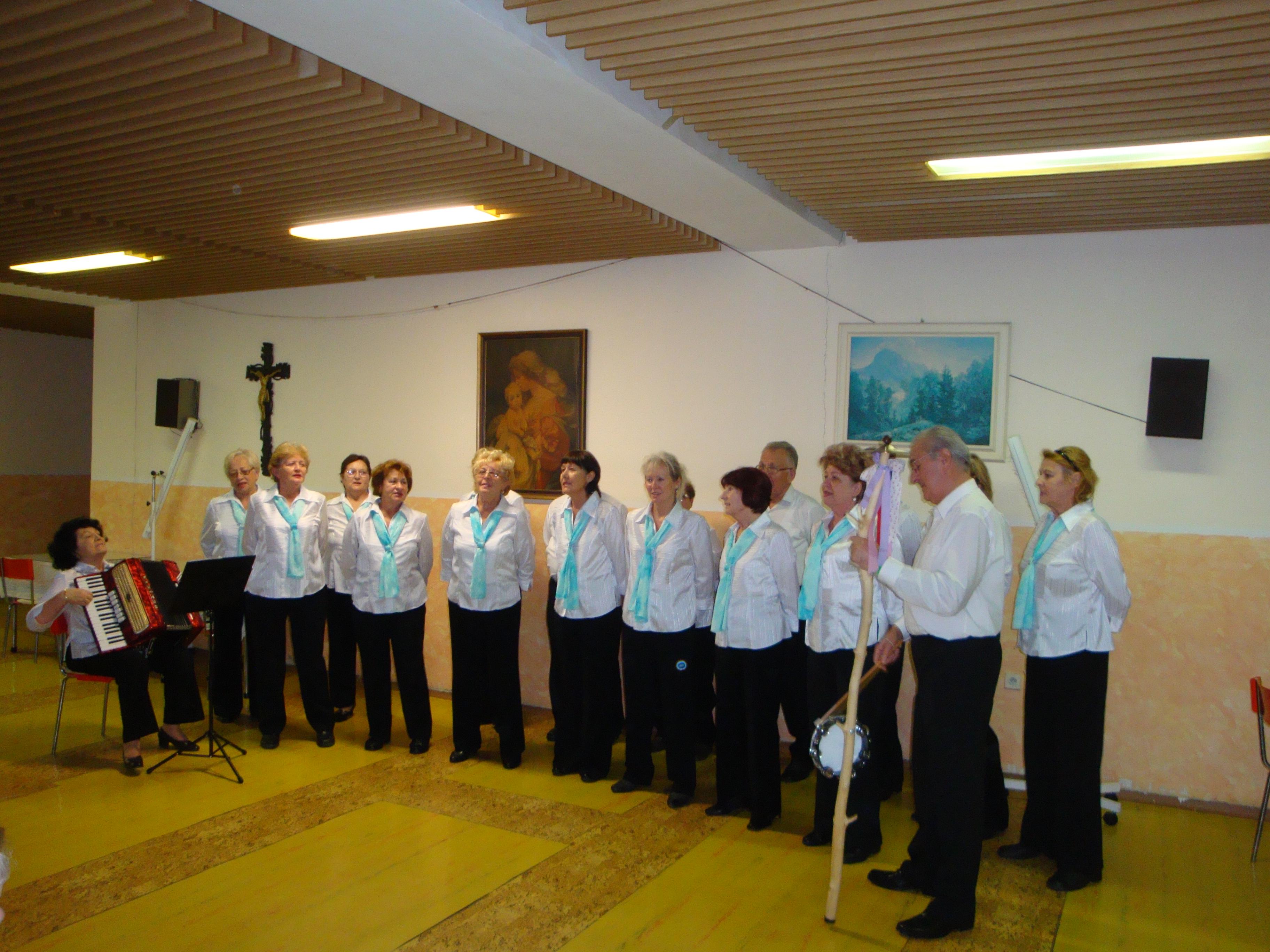 Vystúpenie Jednota dôchodcov - Jesienka 2012