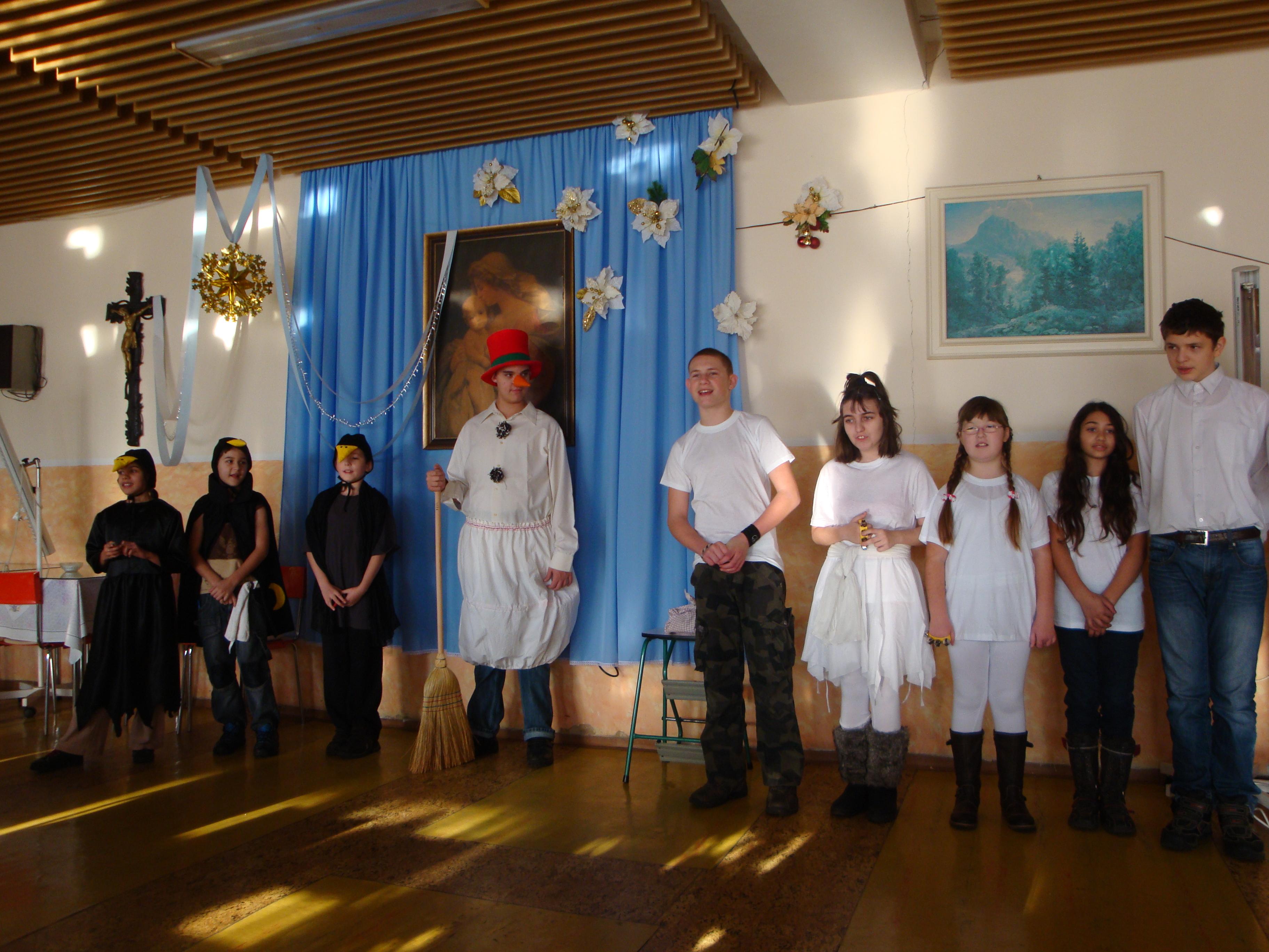 Detské vystúpenie 2011